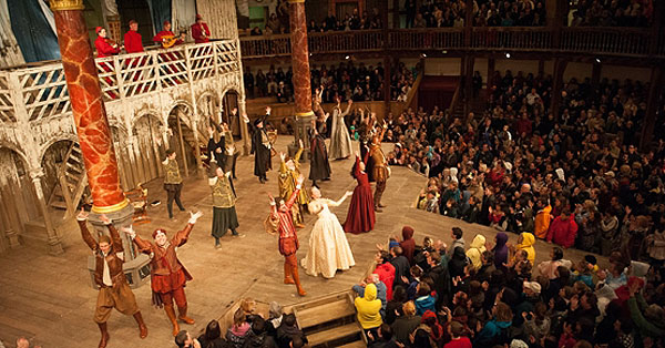 Globe Theatre. Southwark, London.
