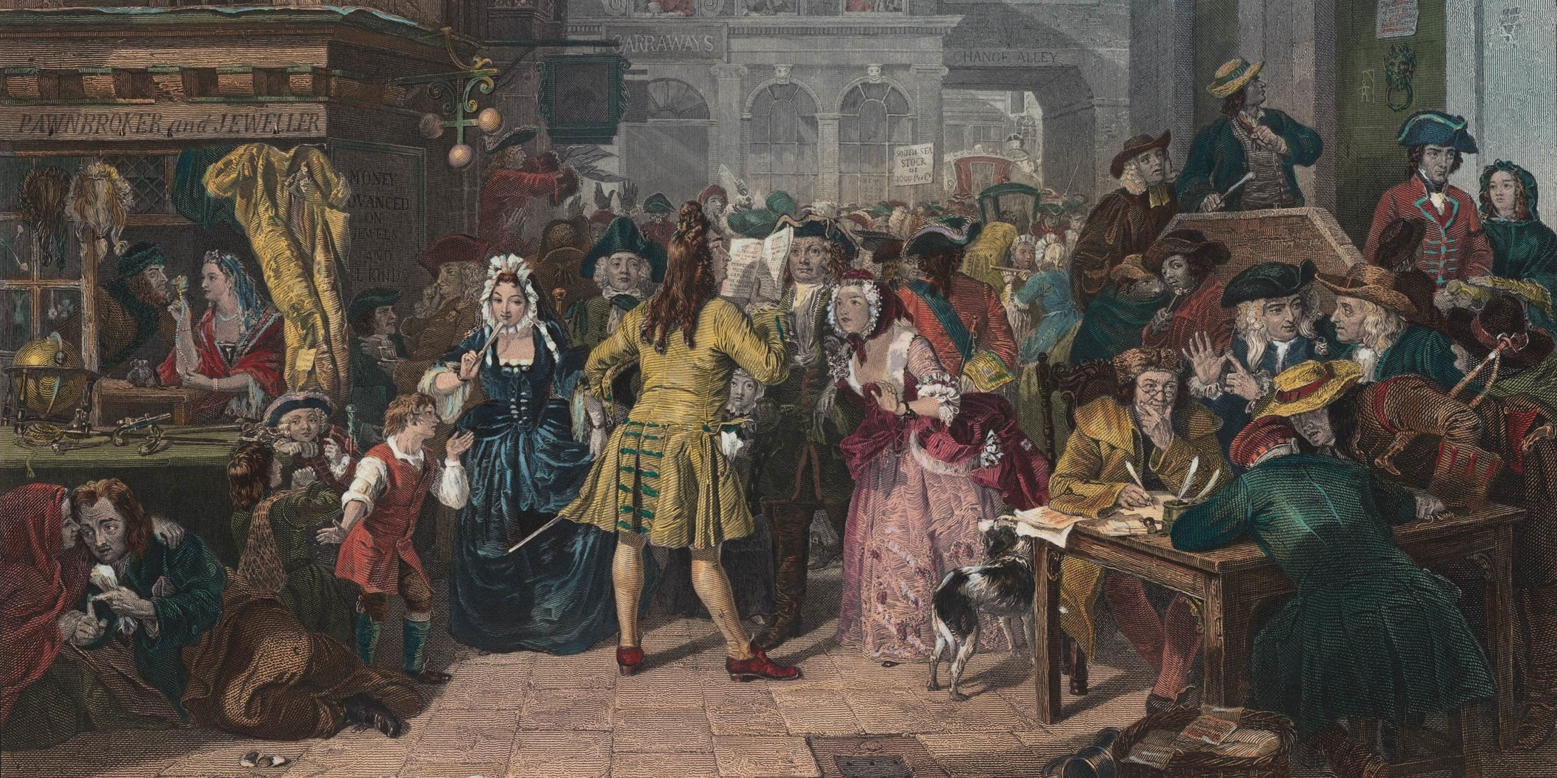 "Women Investors in the 1720 ""South Sea Bubble"""