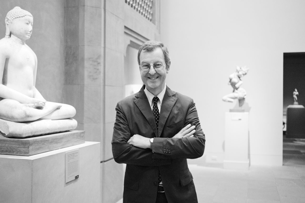 John Guy, Florence and Herbert Irving Curator of the Arts of South and Southeast Asia at The Metropolitan Museum of Art, New York